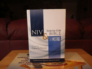 NIV SIDE BY SIDE BIBLE - THE MESSAGE