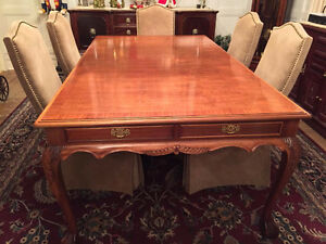 Beautiful Antique Table, Chippendale Style, Ball and Claw Feet London Ontario image 1