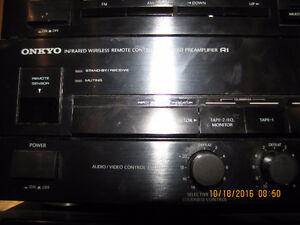 Onkyo power amp and pre amp and tuner West Island Greater Montréal image 2