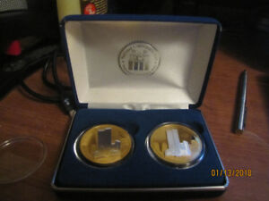 New York Twin Towers coin set $45.00
