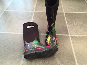 winter & rain boots,shoes sizes 11 - 5 (for kids 5 - 10+yrs old)