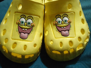 Size 12 Spongebob Square Pants Croc Style Slip on Shoes Kingston Kingston Area image 2