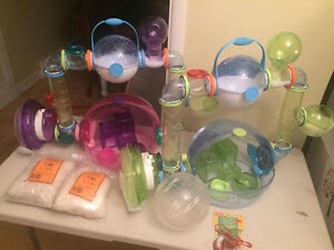 Hamster, souris, Gerbille,Habitrail OVO , accessoires, cages (2)