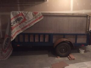 AMAZING CONDITION UTILITY TRAILER FOR SALE