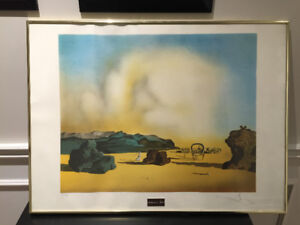 Salvador Dali print signed must sell price reduced
