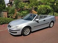 SAAB 93 LINEAR 2006. CONVERTIBLE AUTOMATIC LOOKS AND DRIVES SUPERB..POWER HOOD ..LIKE NEW..MOT..