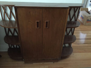 display cabinets/foyer-console table