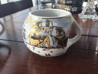 2 ceramic ancient Egypt style mugs