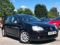 2009 VOLKSWAGEN GOLF 1.9TDI BLUEMOTION MATCH, SUNROOF + 1 LADY OWNER + £30 TAX !