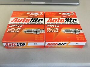 Autolite #26 spark plugs, set of 8 Cambridge Kitchener Area image 1