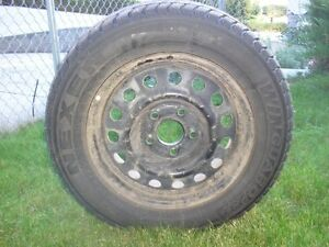 STUDDED WINTER TIRES ON RIMS FOR SALE