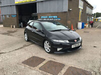 2008 HONDA CIVIC TYPE-R GT i-VEC 3DR,ONLY 59000 MILES WITH FULL SERVICE HISTORY