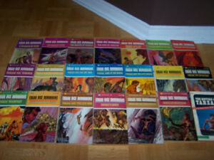38 VINTAGE - EDGAR RICE BURROUGH softcover books