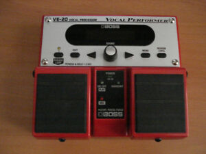 BOSS VE-20 Vocal Processor / Loop Station