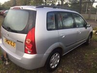 52 plate Mazda permacy **motd with low genuine miles**