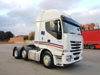 2010 IVECO STRALIS AS440S45 EURO5 ACTIVESPACE FACE-LIFT 6X2 450BHP 12 SPEED AUTO