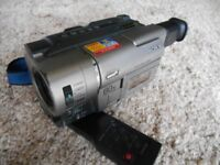 Sony Video 8 Camcorder with charger and instructions. Needs attention