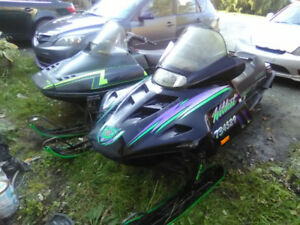 WORKS GREAT!! 700cc Long Track Arctic Cat Wildcat twin w/Reverse