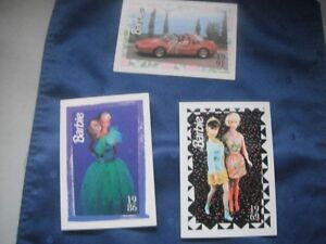 Barbie Trading Cards -  Issued in 1991- in Good Used Condition