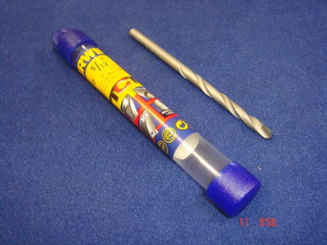 """Irwin HSS Metal TCT Tip Drill Bit 5/32"""" 4mm 10502886"""