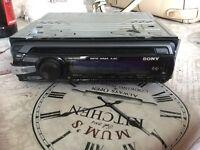 Sony CD player CDX GT35U
