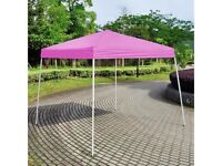 Brand New Boxed Pop-Up Gazebo Pink