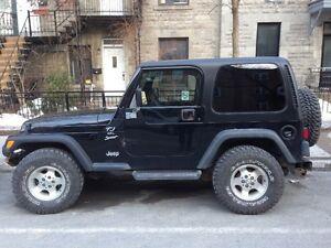 2001 Jeep TJ Sport VUS