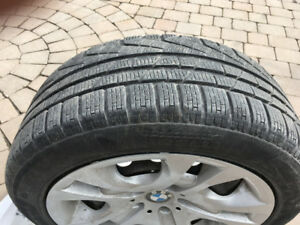 BMW X1 2014 winter tire kit run flat