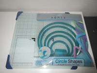 Circle Cutting System with Glass Cutting Board