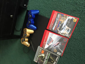 PS3 two controllers for games
