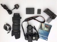 Professional Digital Camera Kit, Inc Sony A900 DSLR camera with two lenses