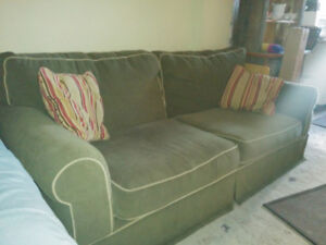 Ashley furniture couch and armchair