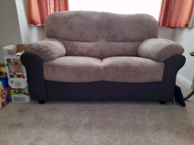 Nearly new two seater sofa