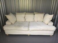 Cream Sofa (3 seater)