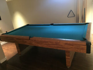 Pool Table Buy Or Sell Toys Games In Strathcona County Kijiji - Brunswick sherwood pool table