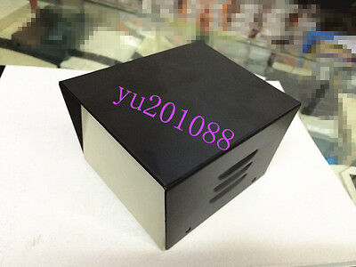 Black Diy Metal Electronic Project Box Transformer Enclosure Case 4.7x3.7x3