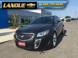 2012 Buick Regal GS  ONE OWNER, BRAND NEW TIRES AND BRAKES