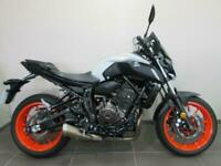 YAMAHA MT-07 ABS, 19 REG 1175 MILES, NAKED 700cc TWIN, TALL SCREEN, GRAB HAND...