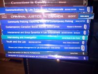 Criminal Justice textbooks - 11 in total