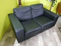 20% OFF SELECTED ITEMS!! Ikea Faux Leather 2 Seater Sofa - Can Deliver For £19