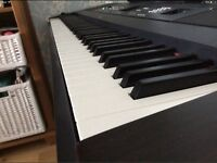 Yamaha DGX 650 Portable Grand with 88 Weighted Keys - Black