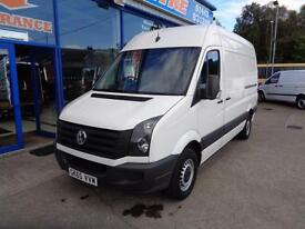 2015 VOLKSWAGEN CRAFTER CR35 TDI 109 MWB HI ROOF - FSH - 1 OWNER - UNDER VW WARR