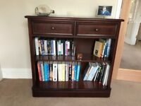 Three bookcases in immaculate condition