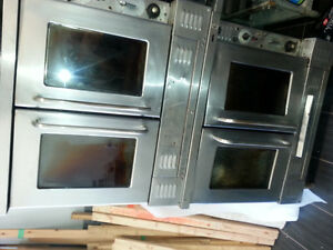 Pizza oven, Stainless counter, panini grill, freezers, coolers,