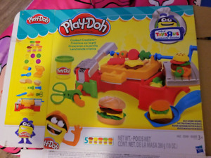 Play doh grill