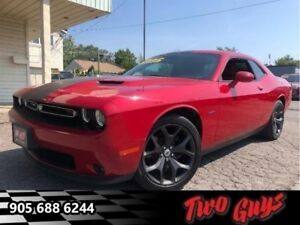 2017 Dodge Challenger R/T - Leather Seats -  Cooled Seats