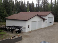 Reduced - Home on 3.92 acres, large shop for heavy equipment