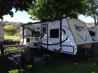 Recreational Vehicle Collision and Paint Repair