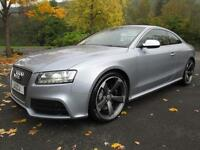 12/12 AUDI RS5 4.2 FSI QUATTRO S-TRONIC COUPE IN MET GREY WITH ONLY 35,000 MILES