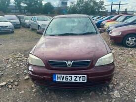 image for 2003 Vauxhall Astra 1.6i Club 5dr Auto HATCHBACK Petrol Automatic